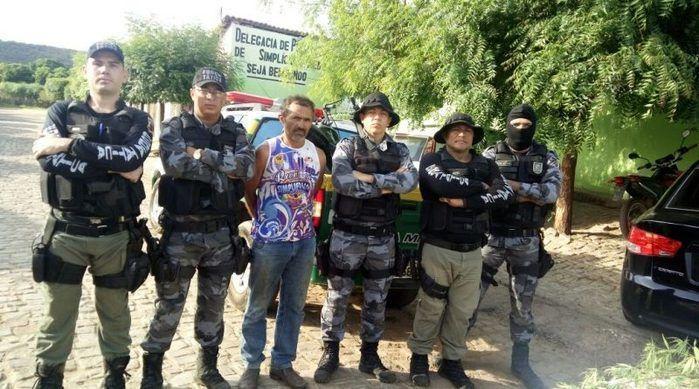 Antônio Filho de Sousa é acusado de cultivar maconha na própria roça (Crédito: Divulgação)