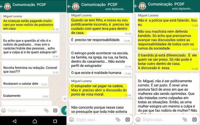 Polícia exonera delegado que culpou mãe por estupro de criança