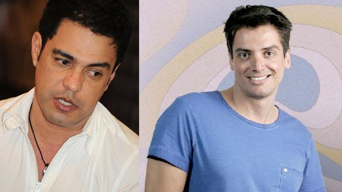 Zezé e Leo Dias fizeram as pazes
