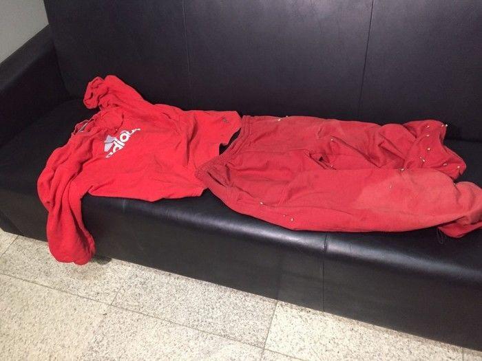 Polícia encontrou roupa usada pelo atirador no dia do crime (Crédito: Reprodução)