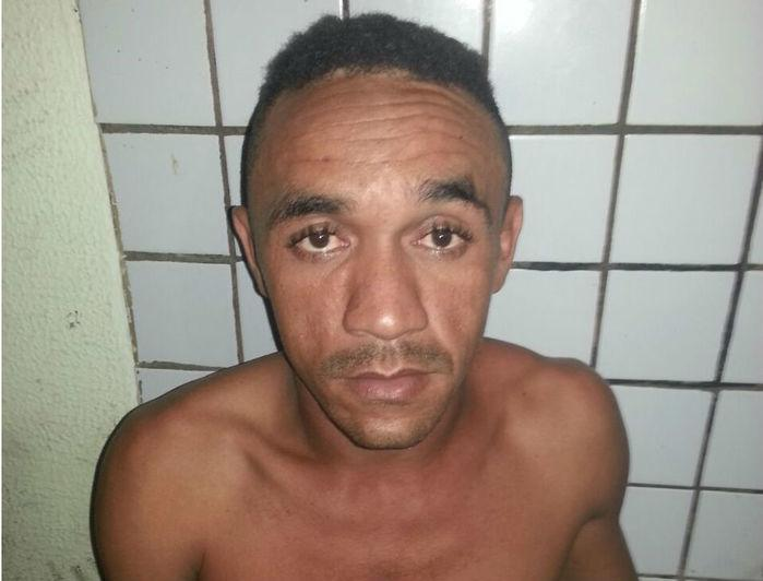 Rogério Félix, tentou fugir e acabou capturado (Crédito: Divulgação)
