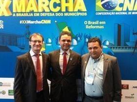 Chico Carvalho vai a Marcha dos Prefeitos e busca investimentos