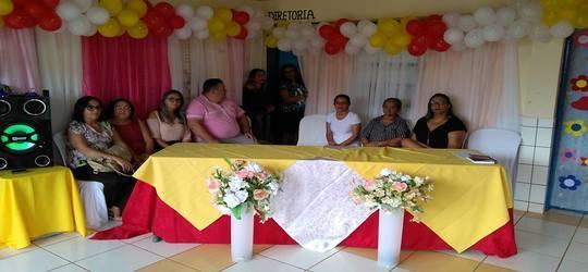 U.E.Antônio Monteiro do povoado Lagoa Seca realizou festa para Mães