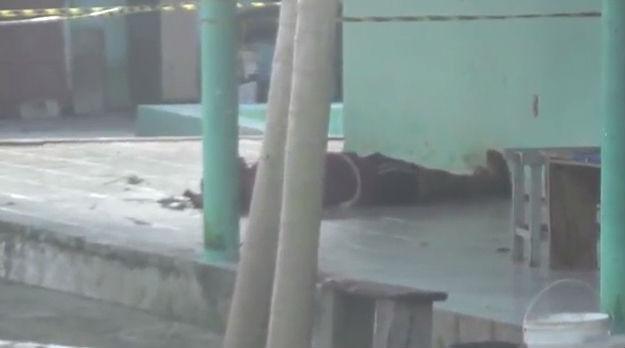 Homem é morto com golpes de foice dentro de centro de recuperação  (Crédito: Rede Meio Norte)