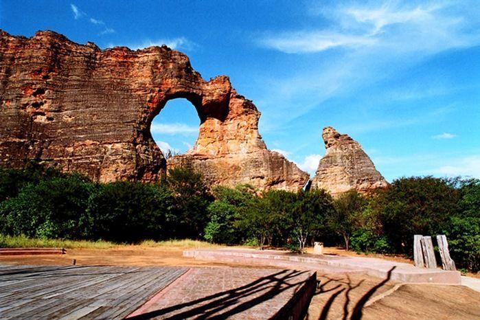 Serra da Capivara fica em São Raimundo Nonato (Crédito: Divulgação)