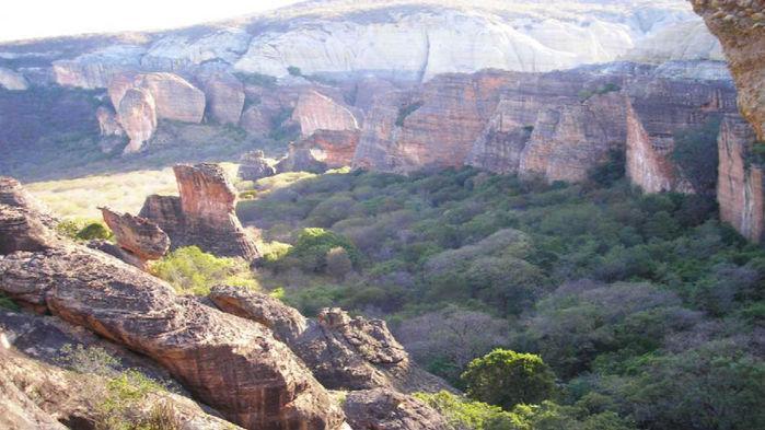 Serra da Capivara é patrimônio cultural da humanidade (Crédito: Divulgação)