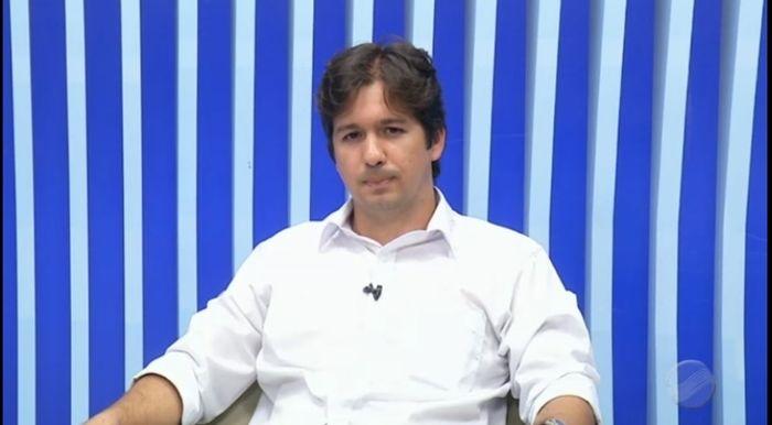 Samuel Silveira no Agora (Crédito: Reprodução MN)