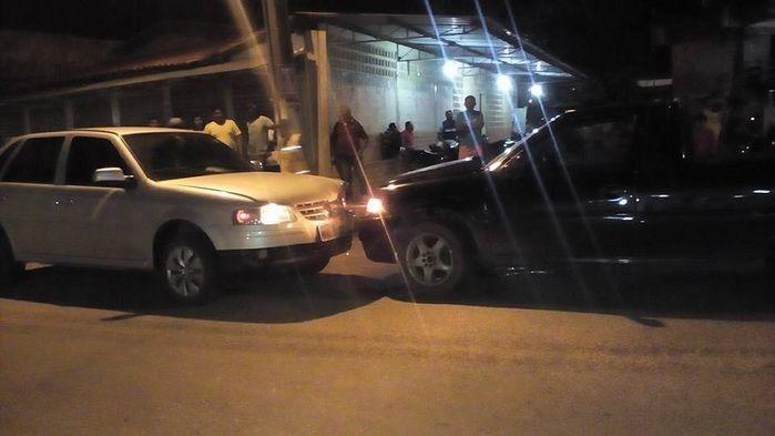 Motorista invade a preferencial e colide com veículo na PI 113