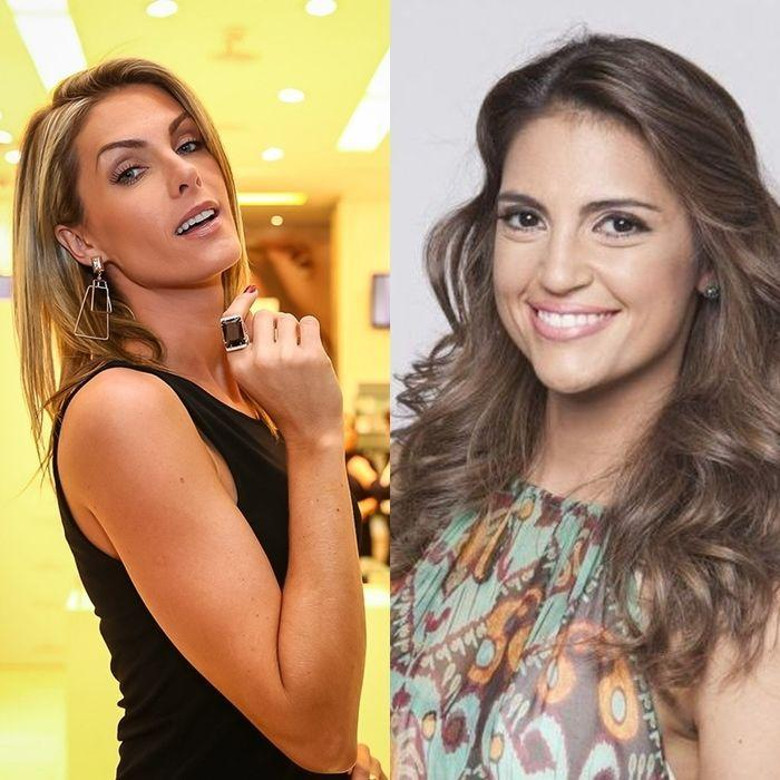 Chris Flores e Ana Hickmann