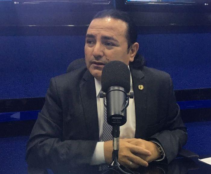 Deputado Francis Lopes (Crédito: Mayara Dias)