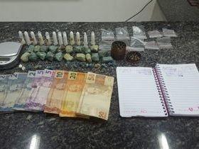 Policia prende três acusados de trafico de drogas em Açailândia
