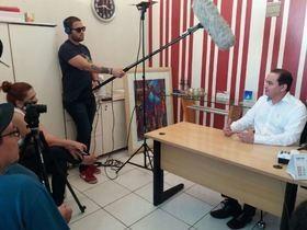 Secretário grava documentário sobre o Programa Mais Médicos