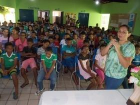 Semtas e Conselho Tutelar realizam palestra educativa.