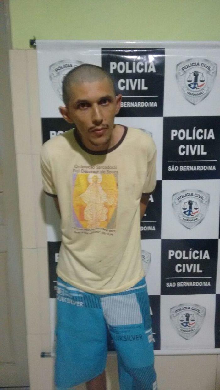 """""""Zé de Wili"""" recapturado em São Bernardo-MA."""