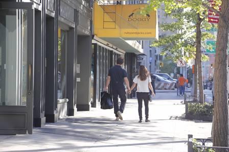 Joesley Batista e Ticiana foram flagrados em sex shop
