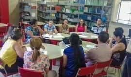A Secretária de Educação participou de reunião em Valença do Piauí