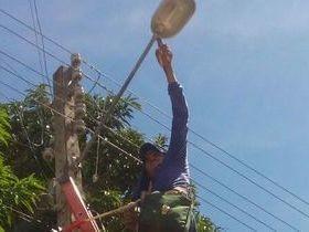Prefeitura recupera iluminação pública em Palmeirais