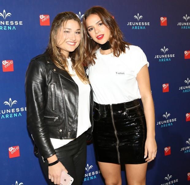 Sasha Meneghel e Bruna Marquezine