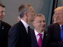 Donald Trump 'empurra' premiê de Montenegro durante encontro; vídeo