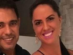 Zezé Di Camargo e Graciele Lacerda se divertem em clube de swing