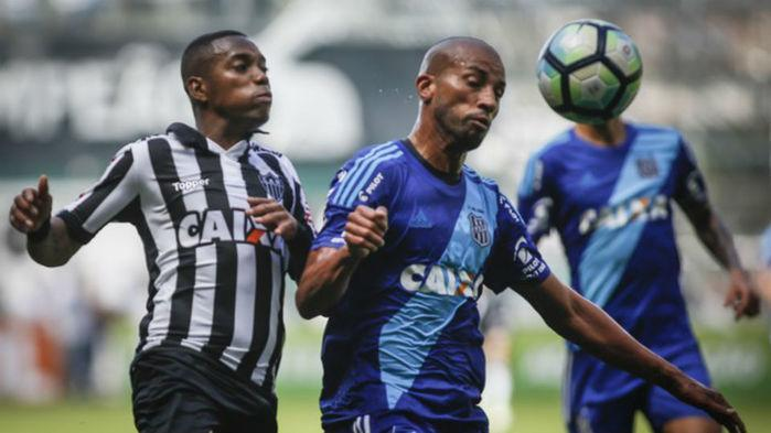 Atlético-MG e Ponte Preta ficam no empate na manhã de domingo