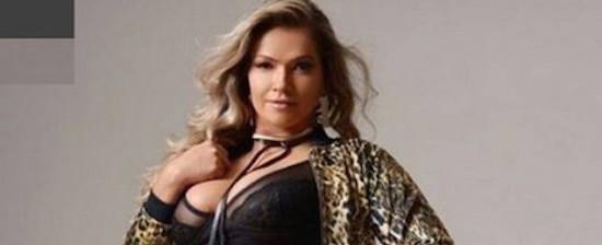 Ex-BBB Fani publica foto de ensaio sensual após ganhar 15 kg
