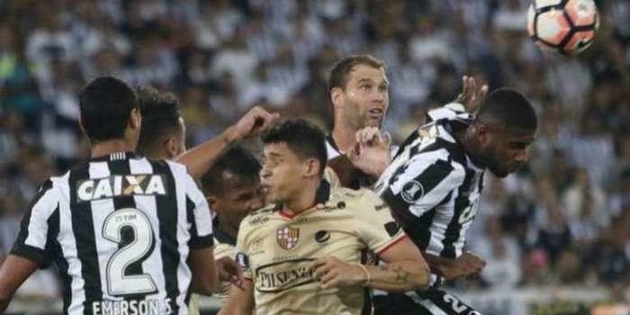Botafogo perde em casa para o Barcelona-EQU na Libertadores