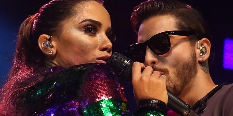 """Maluma planeja convidar Anitta para viagem: """"Conhecer a Colômbia"""""""