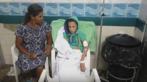 Morre menino com câncer atendido ao lado do lixo no em Vitória