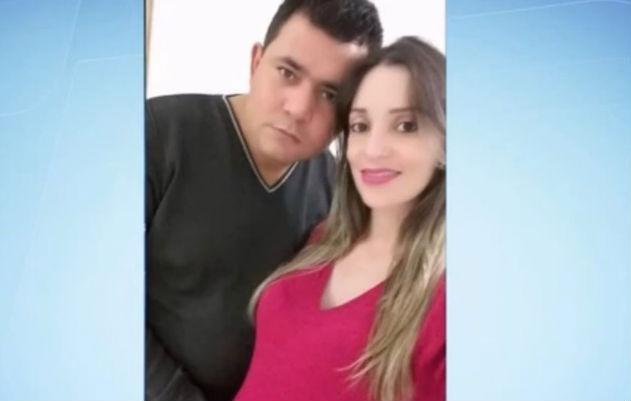Marido estrangula esposa grávida de oito meses