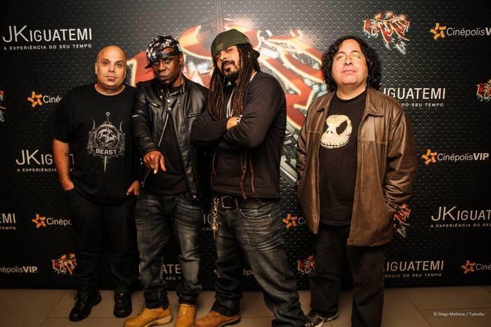 O Rappa anuncia pausa da banda após apresentação em Teresina