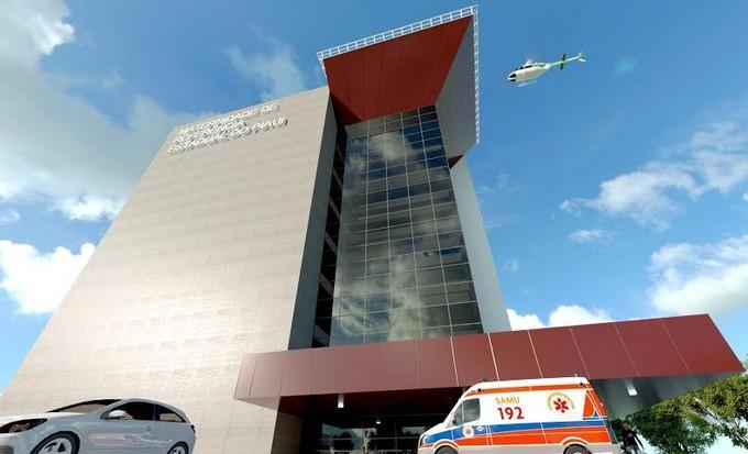 Projeto da nova maternidade de Teresina (Crédito: Divulgação)