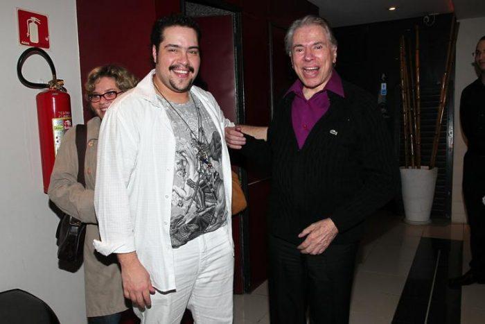 Sílvio Santos e Tiago Abravanel