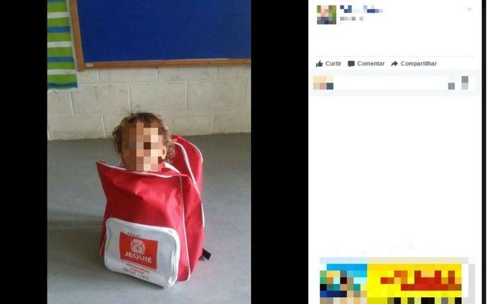 Prefeitura entrega kits escolares e mochilas viram piadas na web