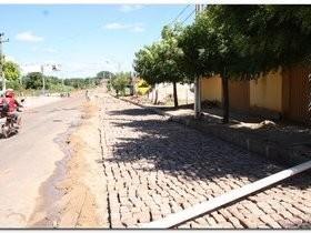 Prefeitura de Inhuma realiza obras na Avenida Duque de Caxias