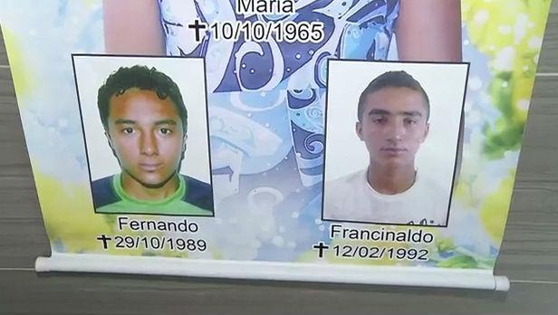 Irmãos mortos  na chacina