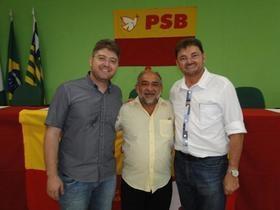Lideranças Políticas do PSB prestigiam os festejos de Campo Maior