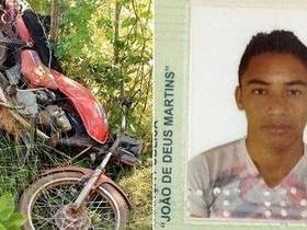 Jovem morre em acidente de moto na PI-110 em Piracuruca