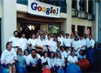 Google em 1999 , uma micro empresa
