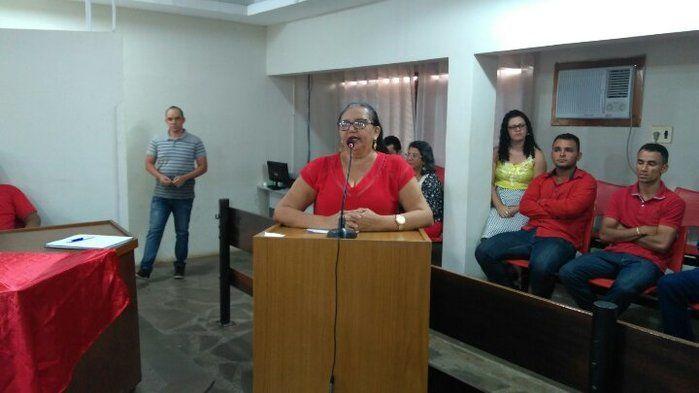 ex Vereadora Guimar (Crédito: Adriano Sousa)