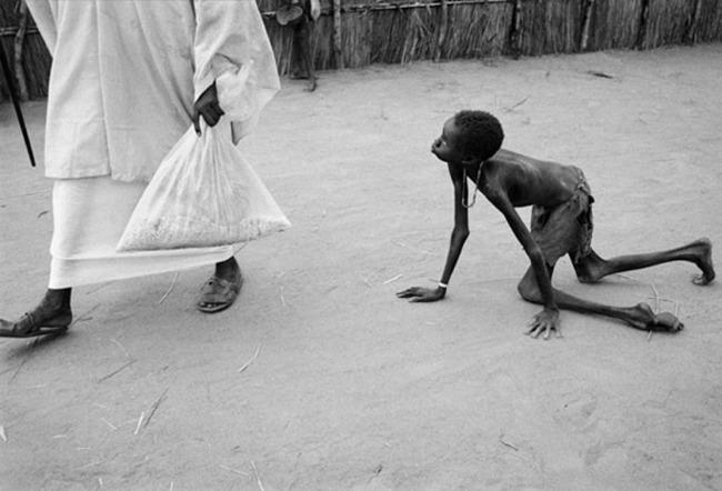 Fome no Sudão em 1998