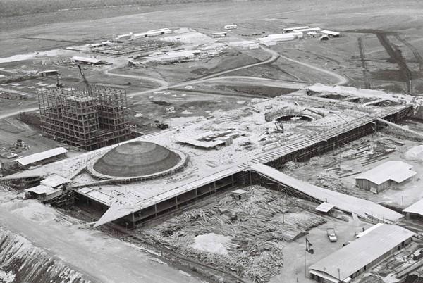 Construção do Congresso Nacional de Brasília