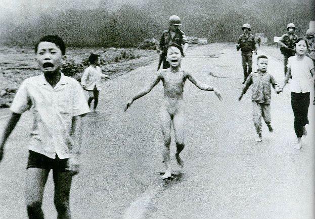 A mais famosa foto da Guerra do Vietnã