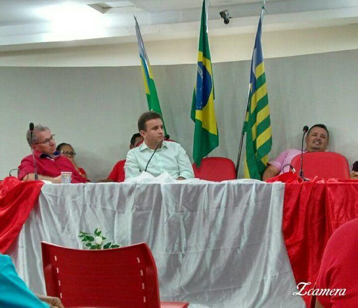 Prefeito Júnior Bill (Crédito: Adriano Sousa)