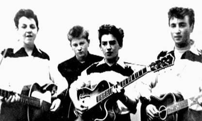 Os Beatles no início de sua carreira
