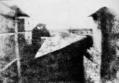 Primeira fotografia da história, tirada na França