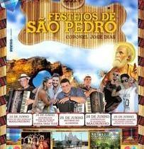 Prefeitura divulga programação oficial dos festejos de São Pedro