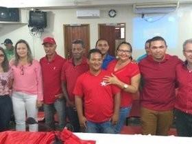 Novo diretório do PT toma possa em São Pedro do PIauí