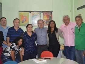 Prefeito se reúne com deputado Assis Carvalho