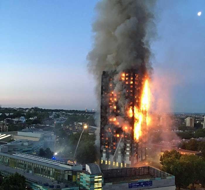 Incêndio em edifício residencial em Londres deixa vários mortos e feridos